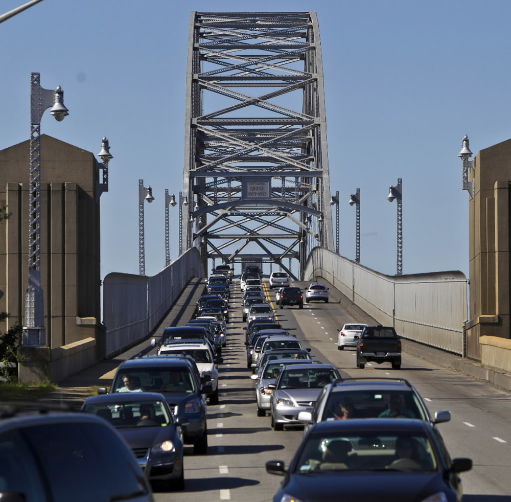 traffic on bridge